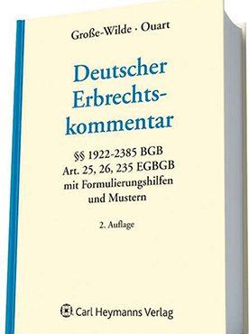 Buchveröffentlichung Deutscher Erbrechtskommentar