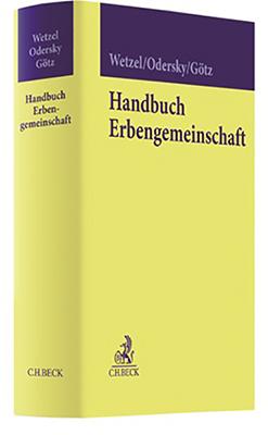 Buchveröffentlichung Handbuch Erbengemeinschaft