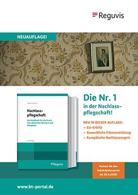 Buchveröffentlichung Nachlasspflegschaft